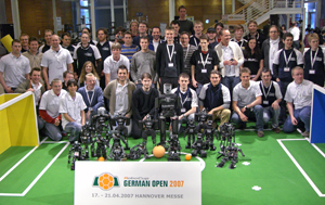 Humanoid League at German Open 2007