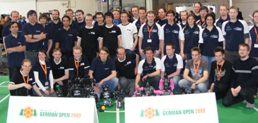 RoboCup German Open 2009 Humanoid League