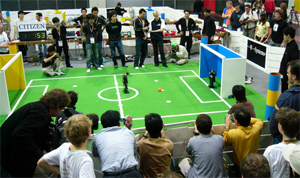 RoboCup 2006 Humanoid League Penalty Kick KidSize