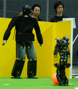 RoboCup 2006 Humanoid League Penalty Kick TeenSize