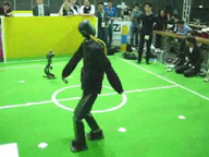 RoboCup 2006 Humanoid League Foot Race Final