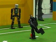 RoboCup 2006 Humanoid League Penalty Kick KidSize Final